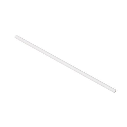 紙ストロー(裸) 白 SW06210-WH